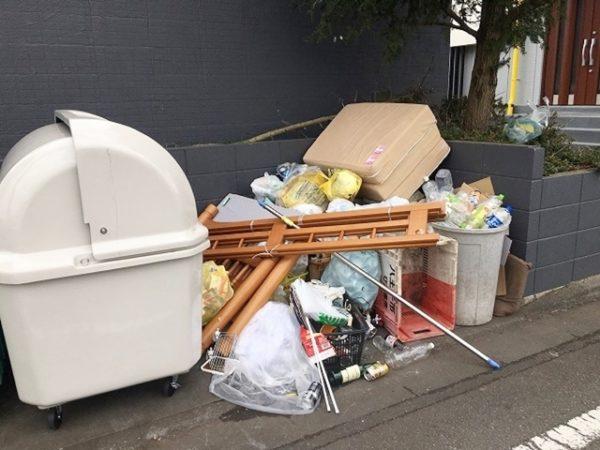 ゴミ置場の現状と課題